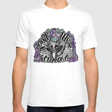 Good Luck 2 SMALL Mens Fitted Tee White