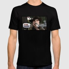 I'm Your Huckleberry (Tombstone) Mens Fitted Tee Black SMALL