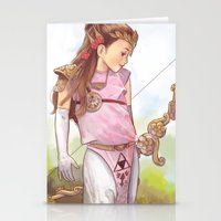zelda Stationery Cards featuring Zelda by Sheharzad