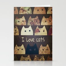 cat-cats Stationery Cards
