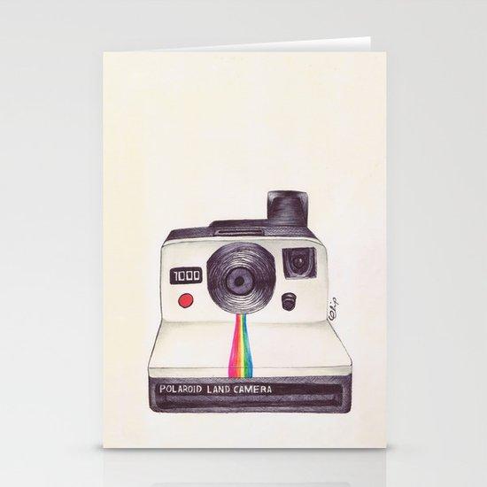 Ballpoint Pen Polaroid Stationery Card