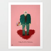 Friday The 14th Of Febru… Art Print
