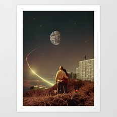 We Used To Live There, T… Art Print