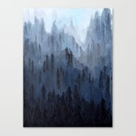 Canvas Print featuring Mists No. 3 by Prelude Posters