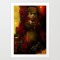The ghost of the room 303 Art Print