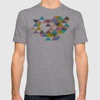 Completely Incomplete Mens Fitted Tee Athletic Grey SMALL