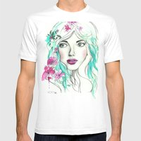 Ice Queen Mens Fitted Tee White SMALL
