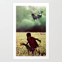what dreams are made of...  Art Print
