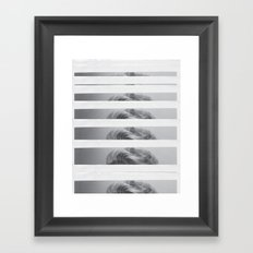 You Only Love Once  Framed Art Print