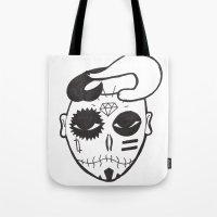 Skull Boy Tote Bag