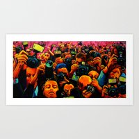 Paparazzi 2 Art Print