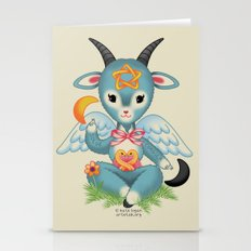 Baby's First Baphomet Stationery Cards
