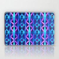 Blue/Purple Metallic Pattern Laptop & iPad Skin