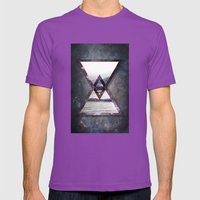 Irregular Galaxy Mens Fitted Tee Ultraviolet SMALL