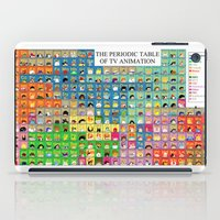 The Periodic Table of TV Animation iPad Case