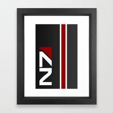 Mass Effect - N7 Hardcase Framed Art Print