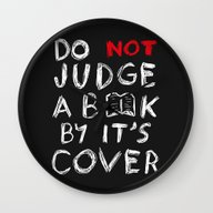 Do Not Judge A Book By I… Wall Clock