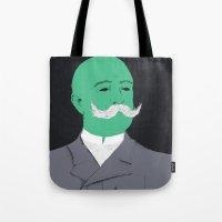 Stache Man Tote Bag