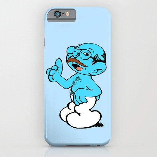 Tobias Smurf iPhone & iPod Case