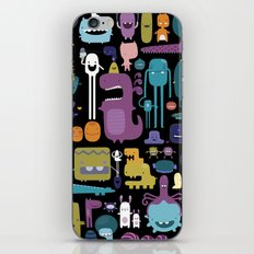 MONSTERS iPhone & iPod Skin