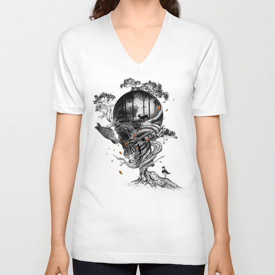 Lost Translation V-neck T-shirt
