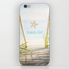 Beach Girl iPhone & iPod Skin