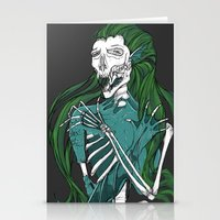 Dead Siren - Hold On Tig… Stationery Cards
