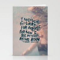 Being Born Stationery Cards