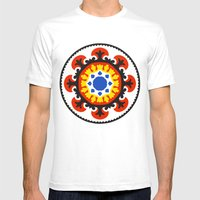 Bold and bright beauty of suzani patterns ver.4 Mens Fitted Tee White SMALL