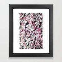FOILED {PINK} Framed Art Print