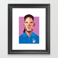 RB10 | Azzurri Framed Art Print