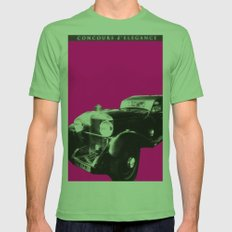 framed Aston Martin Mens Fitted Tee Grass SMALL