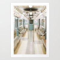 Subway Past Art Print