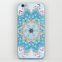 MAGIC FLOWER MANDALA iPhone & iPod Skin