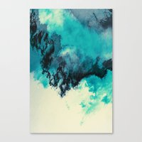 Painted Clouds V Canvas Print