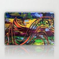 Copper lines Laptop & iPad Skin