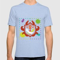 Splatoon - Game of Zones Mens Fitted Tee Tri-Blue SMALL
