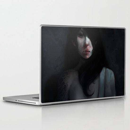 Portrait of Ikuko's Ghost Laptop & iPad Skin