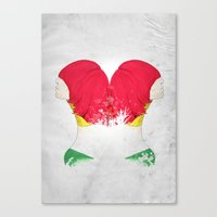RED'FLECTO Canvas Print