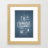 Welcome To Yamatai Island - Tomb Raider Framed Art Print