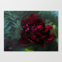 Ruby Peoni Canvas Print