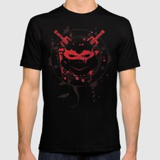 Raphael Turtle Mens Fitted Tee Black SMALL
