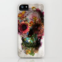 iPhone 5/5s Case featuring SKULL 2 by Ali GULEC