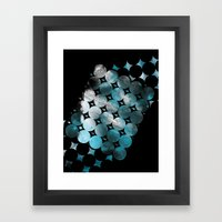 CircleTracts Framed Art Print