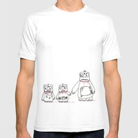 E Family Mens Fitted Tee White SMALL