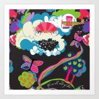 Garden of Earthly Delight Art Print
