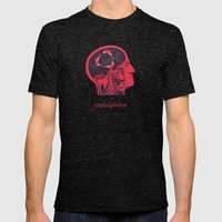 Endolphins Mens Fitted Tee Tri-Black SMALL