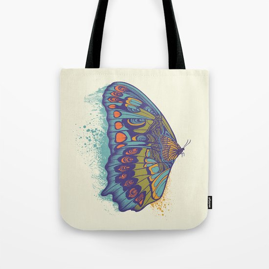 Butterfly Life Cycle Tote Bag