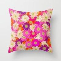 Flowers 02 Throw Pillow