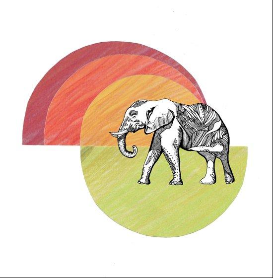 Elephant... Art Print